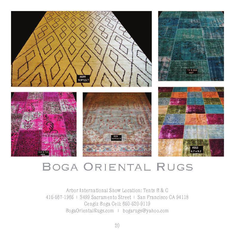 Hand tufted chinese acrylic rug